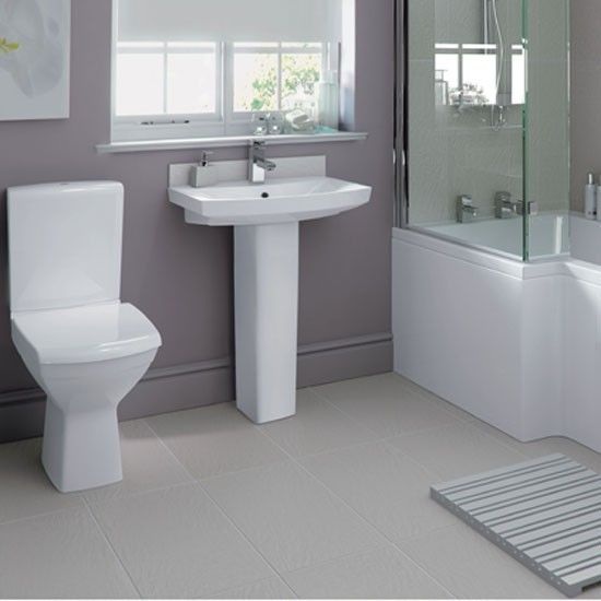 A Fantastic New Contemporary Bathroom Suite. Works Perfectly With Outer