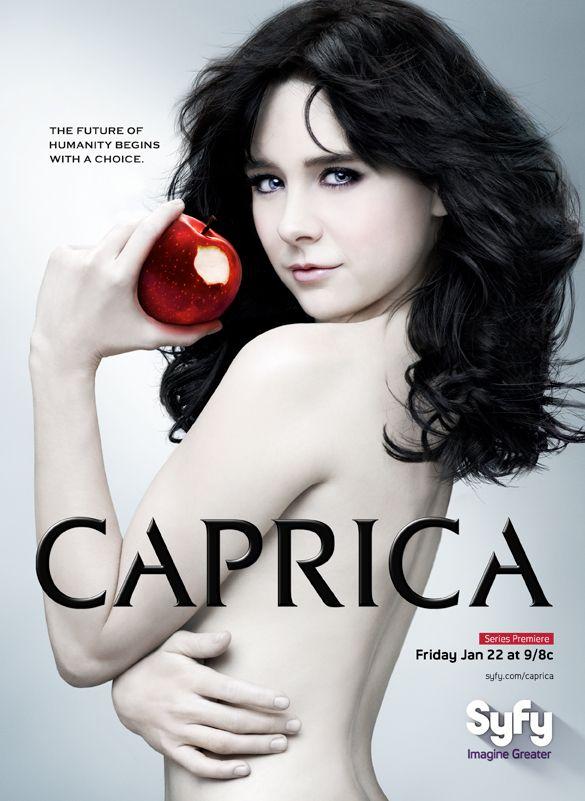 Caprica poster.
