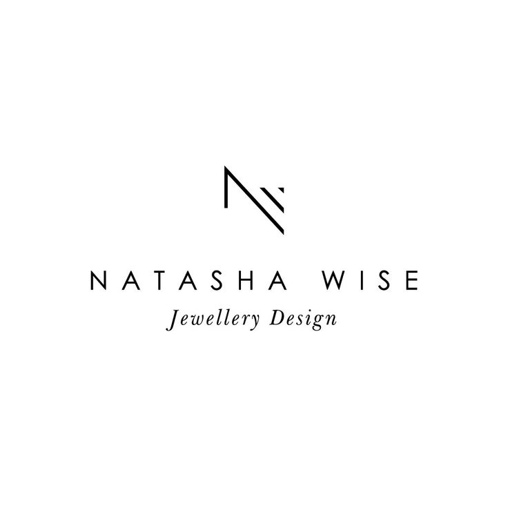 Professional Logo Design | Business Logo | Jewellery Logo | Fashion Logo | Minimalist Logo | Monogram Logo | NW Monogram | by IsleNoire on Etsy