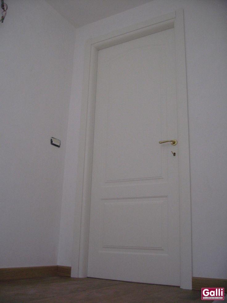 #Porta #Interna #Pantografata #Bianca #Laccata #FerreroLegno #Bordighera   www.galisrl.eu