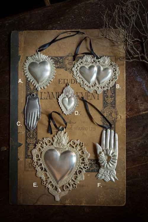 Milagros Pendants from Mothology ~ The Science of Style                                                                                                                                                     Más