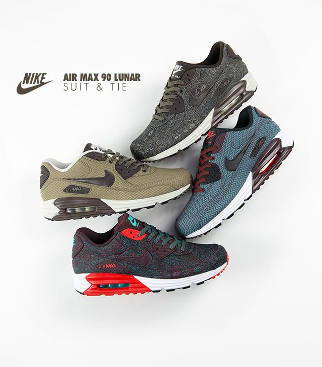 Nike Air Max 90 Lunar Suits & Ties Pack.
