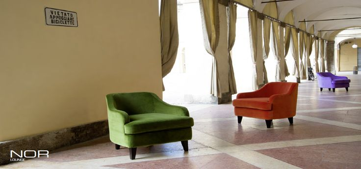 NOR armchairs by Domingo