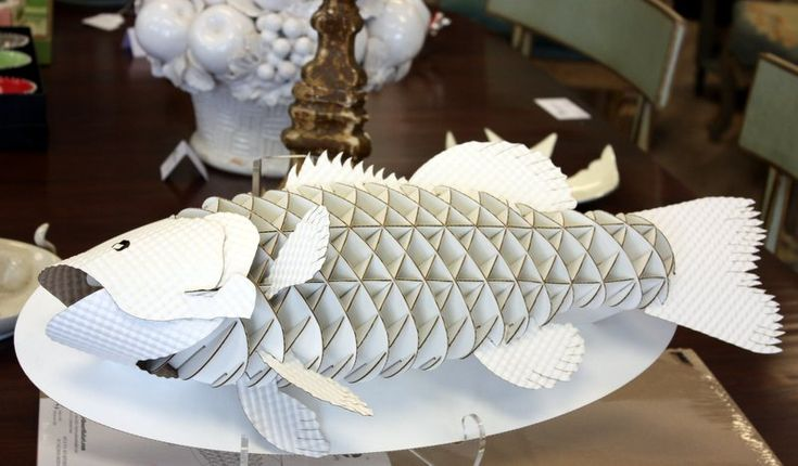 Cardboard Fish Puzzle Things That Make Me Smile