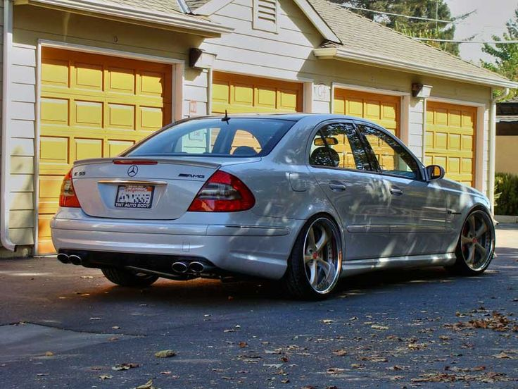 Work VS-KF on Mercedes Benz E55 AMG 05