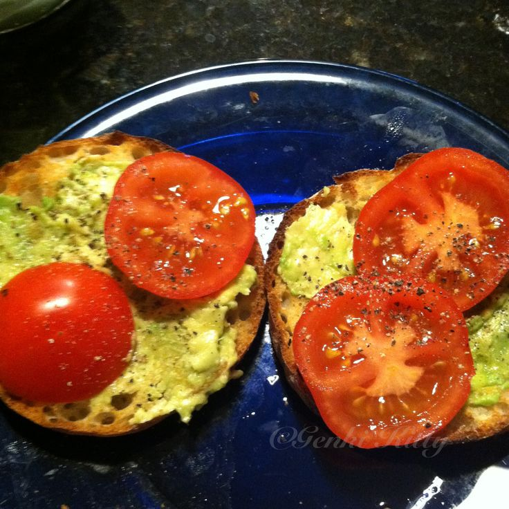 Avocado Toast Idea Vegan