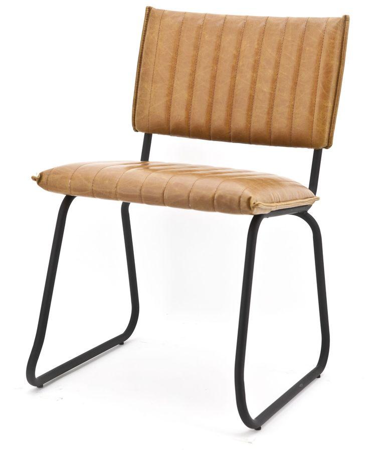 Vera stoel cognac - Eleonora   Robin Design