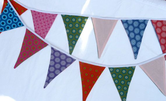 Multicoloured Bunting  Handmade in South Africa by MathildeAndCo, £12.00