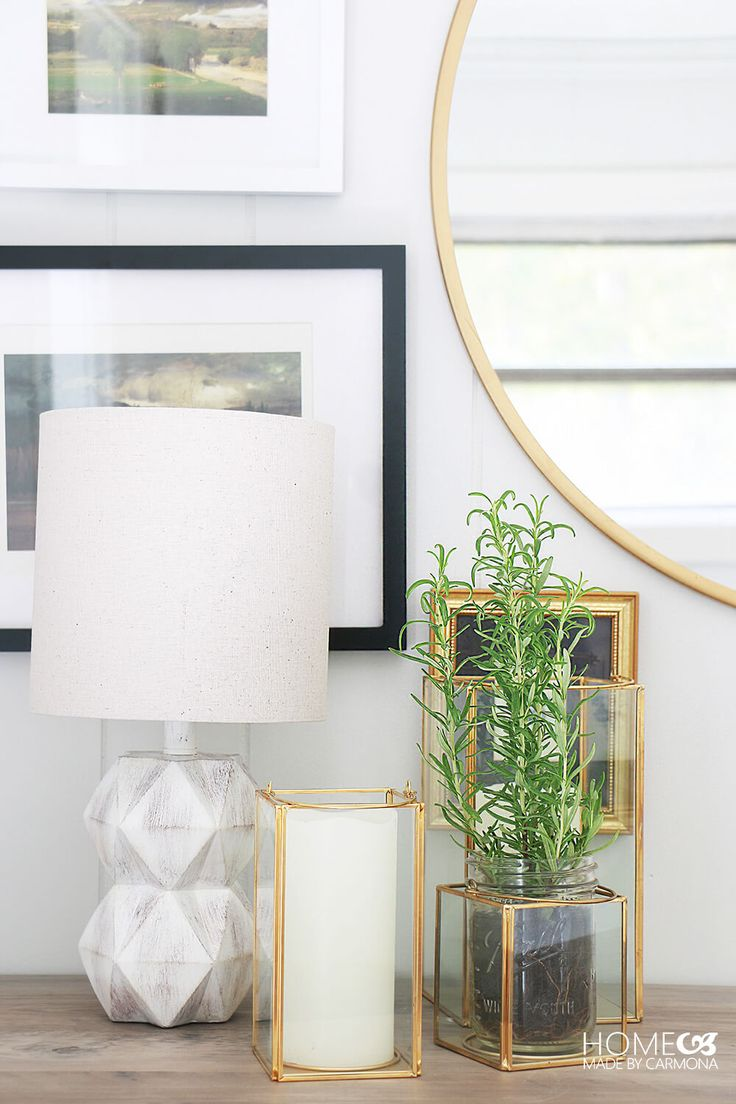 A simple entryway refresh with big impact!   Home Made by Carmona   #ad #BHGLiveBetter #entrywaydecor #entry