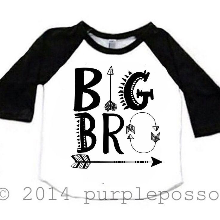Big Brother Arrow Shirt Raglan Big Brother Shirt Hipster Big Brother Baby and Toddler Big Brother Shirt Big Bro Shirt Aztec Hipster by PurplePossom on Etsy https://www.etsy.com/listing/224745156/big-brother-arrow-shirt-raglan-big