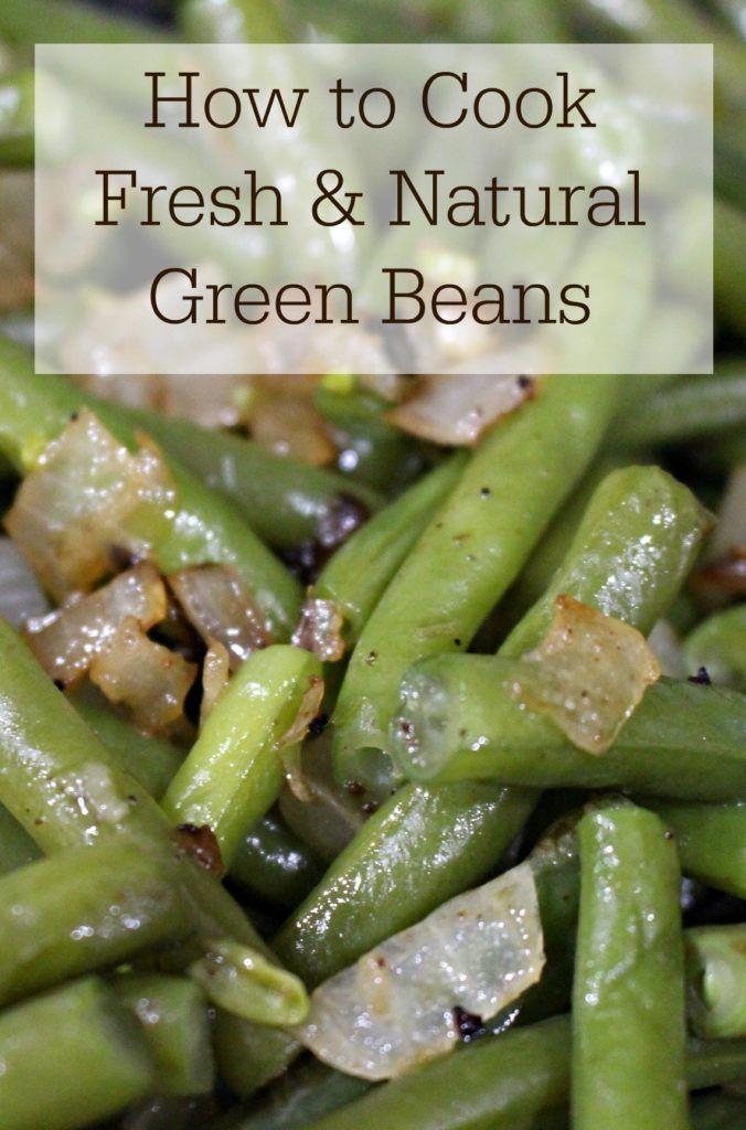 how to keep cut green beans fresh