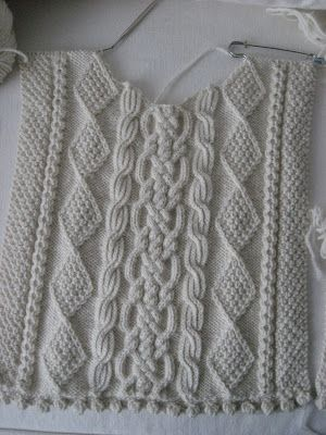 de WILLOW COTTAGE: Aran Sweater