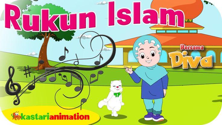RUKUN ISLAM  - Lagu Anak Indonesia - HD | Kastari Animation Official