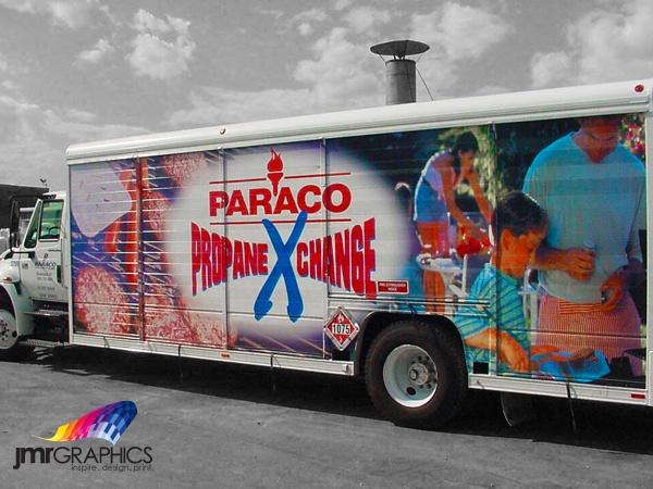 Custom Graphics for Paraco Propane Exchange