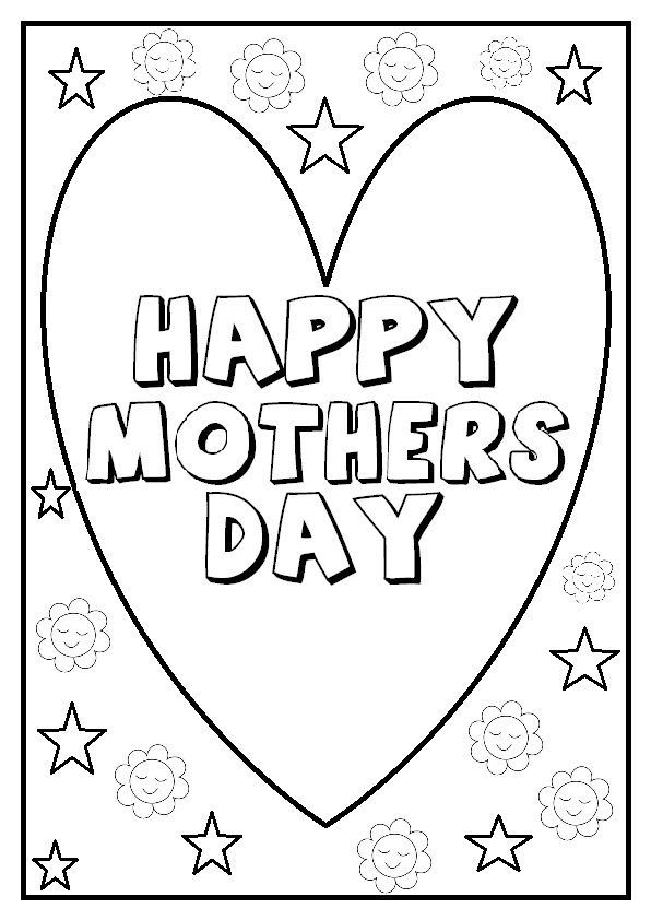 Free Printable Mom Coloring Page Mother S Day Sheet بالعربي نتعلم Mothers Day Coloring Pages Mothers Day Drawings Mothers Day Cards Printable