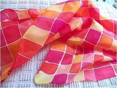 Art Threads: Silk Painting - Class 3