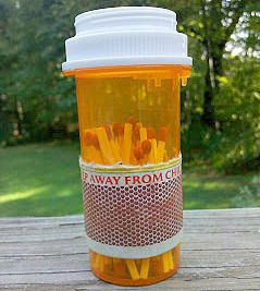Practical Ideas For Reusing Pill Bottles As Storage Kits