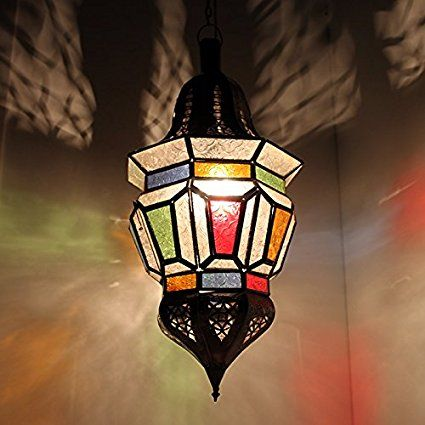Marroquí Proyección crean Farol-Lámpara de techo Techo Lámpara tarab 60CMH: aladi nbazarcom