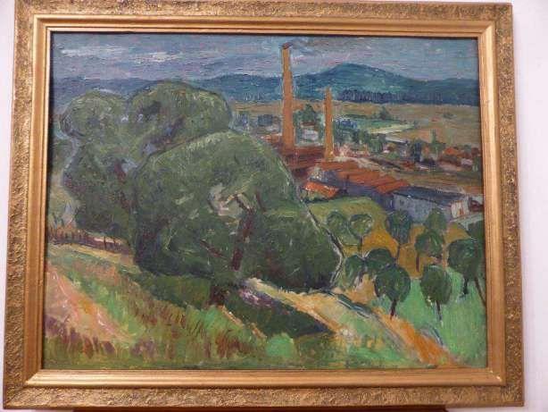 Industrial Landscape - Alexandru Ciucurencu, about 1960/1970