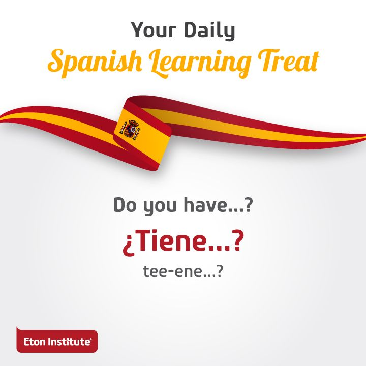 Don't miss out today's Spanish learning treat. Use this phrase to request for something you like.