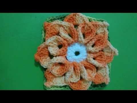 Flor estrela para aplicação - YouTube