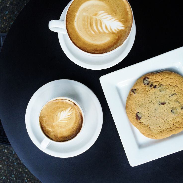 Time for a coffee-cookie break!