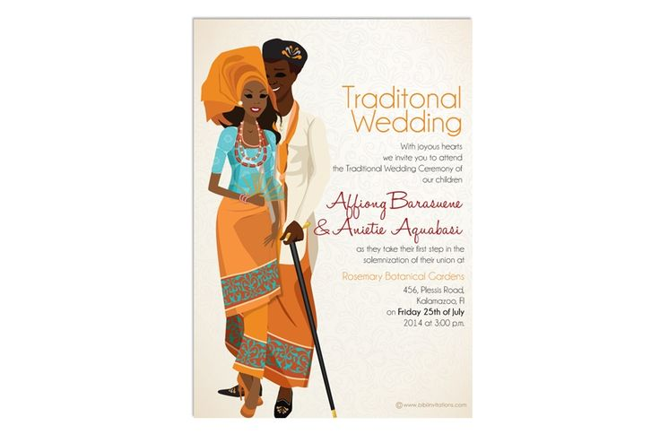 Igbo Traditional Wedding Invitation Cards: 17 Best Images About Traditional Wedding Ideas On