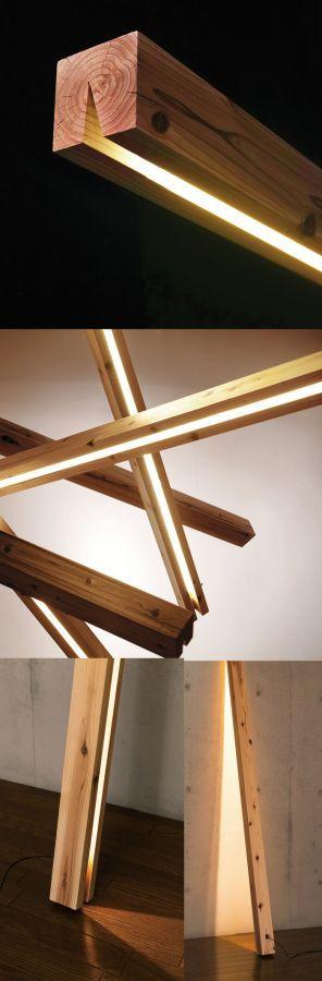 NOSIGNER – KINOWA BEAM  #design #productdesign #industrialdesign #lamp #wood #lampdesign #lighting #lightdesign #light #lightingdesign #woodworkind
