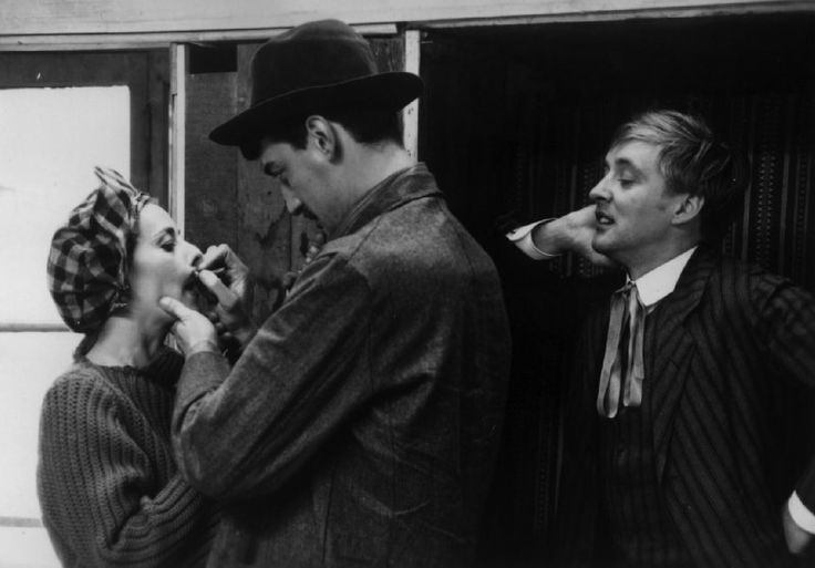 "Still of Jeanne Moreau and Oskar Werner in ""Jules et Jim"" (1962)"