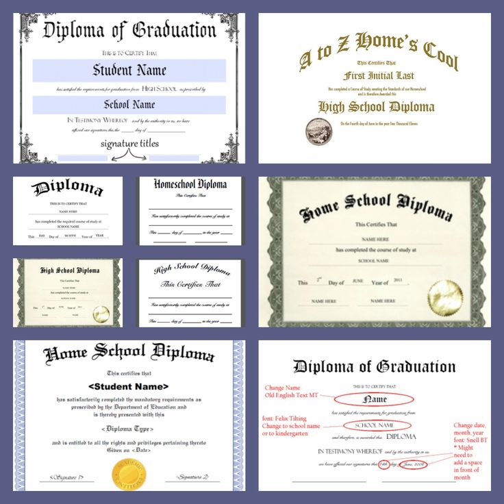 Free Homeschool Diploma Forms Online A Magical