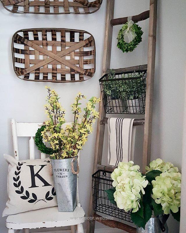 Basket Home Decor: Best 25+ Tobacco Basket Decor Ideas On Pinterest