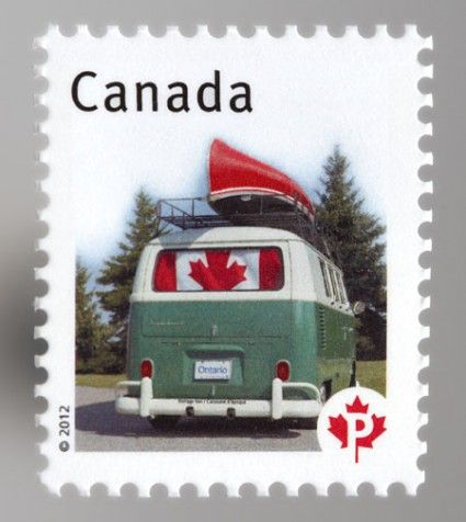 Canadian definitive stamp 2012