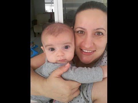 Brincando com o bebê (2 meses) - YouTube