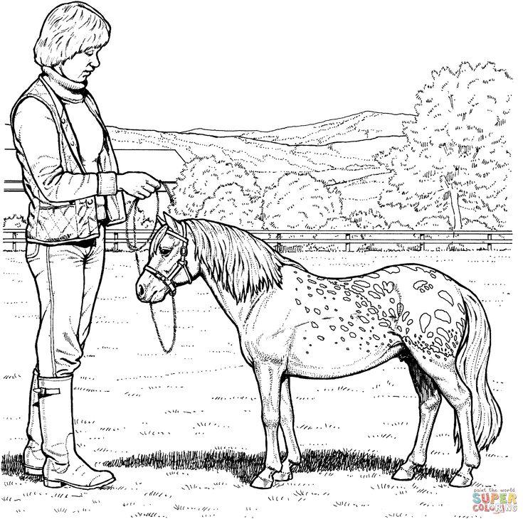 Shetland Pony Coloring Page 2153x2137