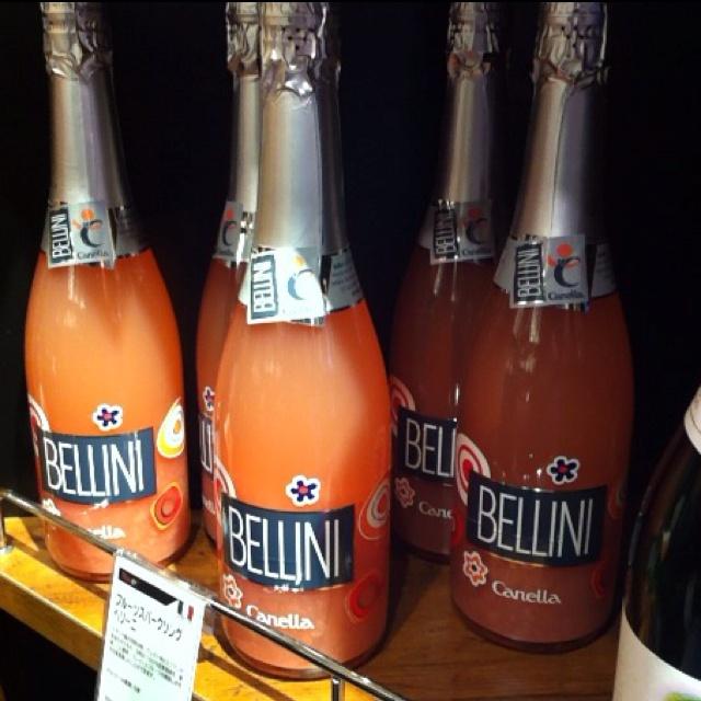 bellini bottle from italy