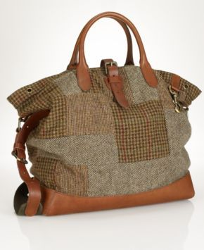 Polo Ralph Lauren Bag, Tweed Fishing Tote