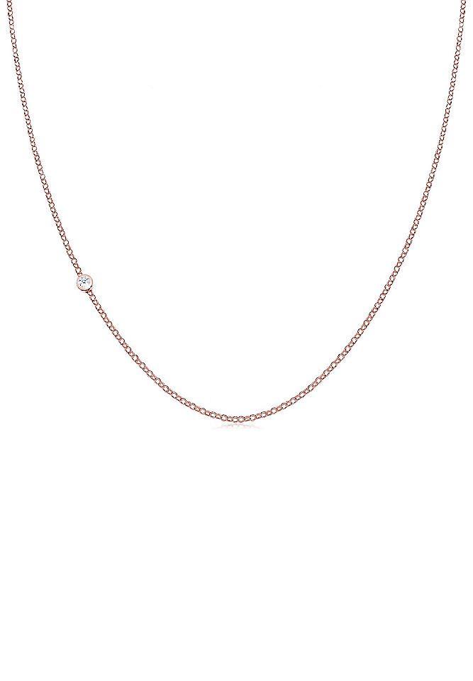 Elli Halskette »Basic Diamant 925 Sterling Silber« Jetzt bestellen unter: https://mode.ladendirekt.de/damen/schmuck/halsketten/silberketten/?uid=557adbfa-ed3c-54b5-a504-be5fa53c4cec&utm_source=pinterest&utm_medium=pin&utm_campaign=boards #schmuck #halsschmuck #halsketten #silberketten