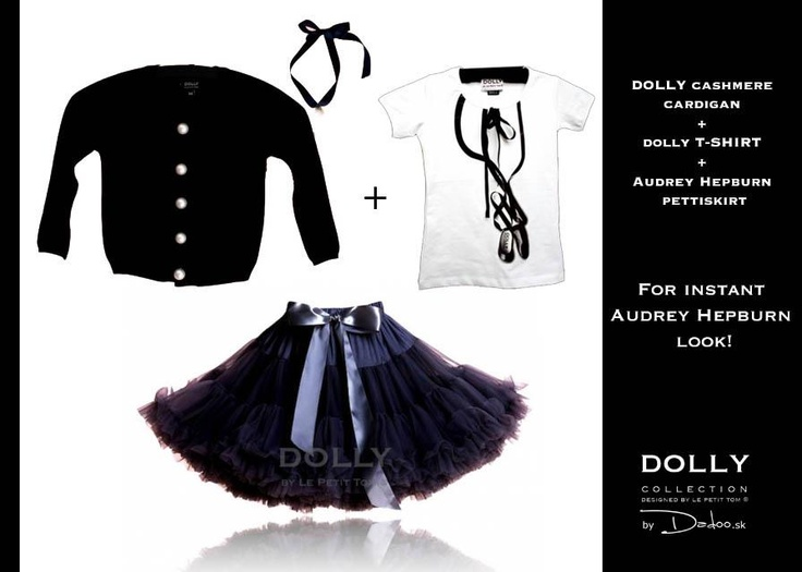MIX and MATCH as little DOLLY Audrey Hepburn style