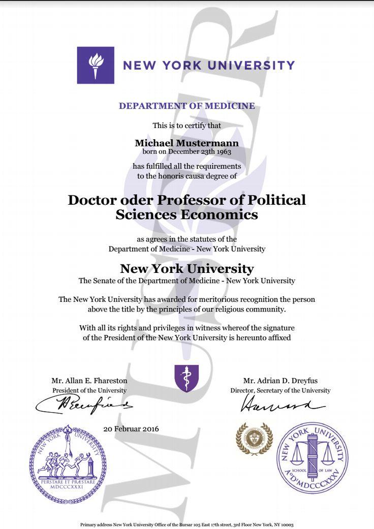 Degree certificate directory degree honorary certificate doktortitel kaufen new york university berufszertifikate diplome doctor professor honorary degree certificate harvard yelopaper Image collections