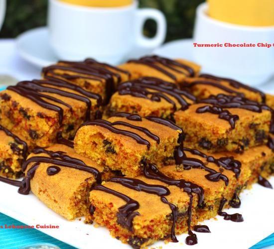 Turmeric Chocolate Chip Cake image 1