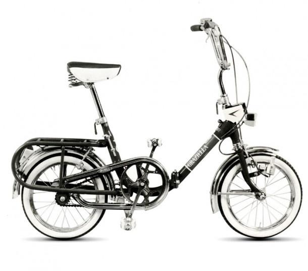 Graziella (1964) , folding bike designed by Rinaldo Donzelli for Teodoro Carnielli from Vittorio Veneto