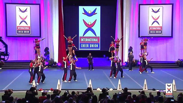 USA National Team [Coed Premier] - 2015 ICU World Cheerleading Champions...
