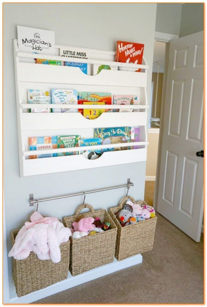 Creative Toy Storage Ideas For Small Spaces Diy Toy Organizer Diy Toy Storage Ideas Perfect For Small Sp Nursery Book Kid Toy Storage Creative Toy Storage