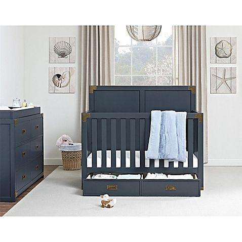Monbebe Wyatt Nursery Furniture Collection in Graphite Blue