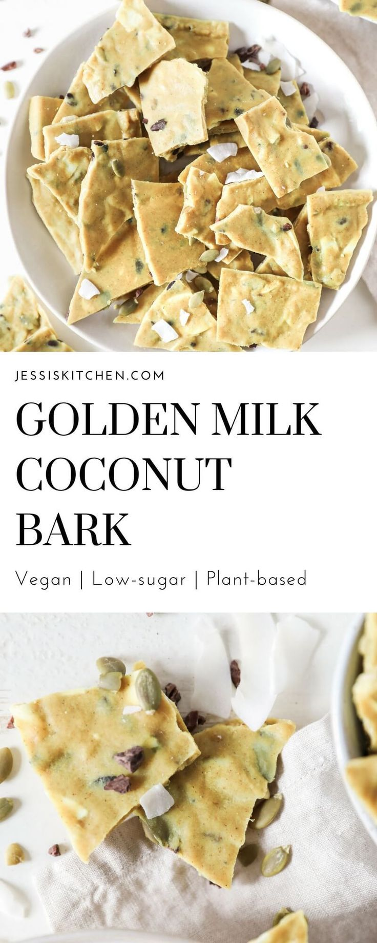 Golden Milk Coconut Bark may be one of the best ideas I have had in a long time. Seriously, this is the perfect, healthy little treat filled with healthy fats, seeds and anti-inflammatory spices. Have you ever had golden milk? It is a pretty trendy drink right now and for good reason. It is not …