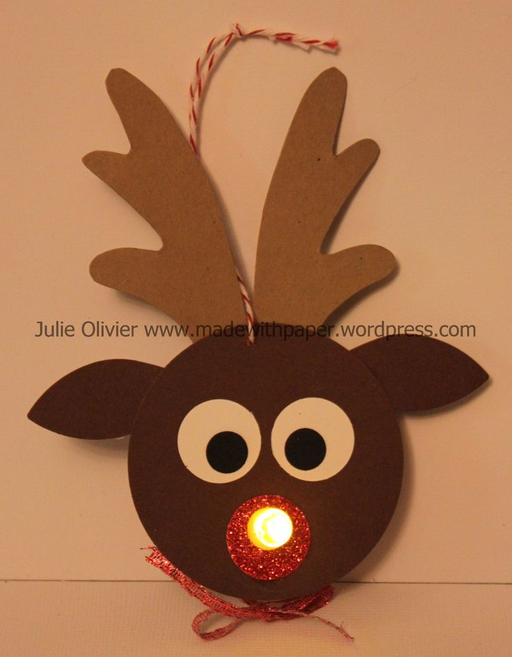 I have another cute craft for you today!  I have to say that this is not my idea. I saw this on Pinterest and I decided to make my own... The main idea is to use the tealight candle (a battery oper...                                                                                                                                                                                 Mehr