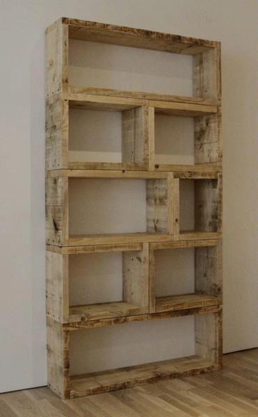 shabby chic bookshelf