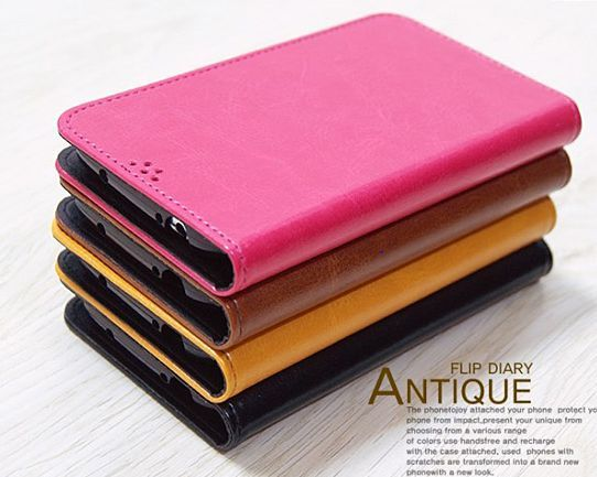 Antique Vintage Stunning Flip Diary Case for LG Vu 3
