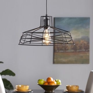 Shop for Harper Blvd Valassina Wire Cage Pendant Lamp. Get free shipping at Overstock.com - Your Online Home Decor Outlet Store! Get 5% in rewards with Club O!