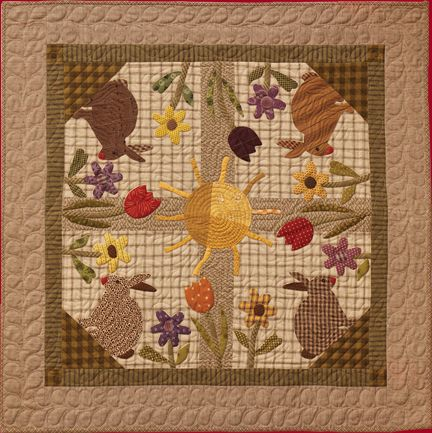 Living In The Sunlight quilt by Norma Whaley